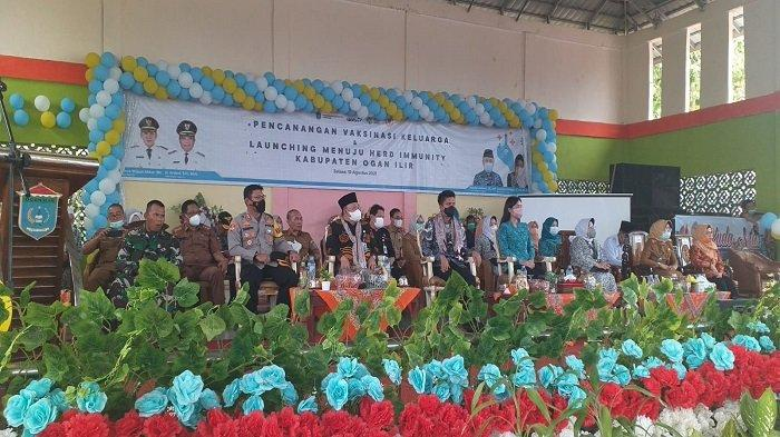 Polres Ogan Ilir Siap Dukung Target Herd Immunity Lewat Vaksinasi Massal