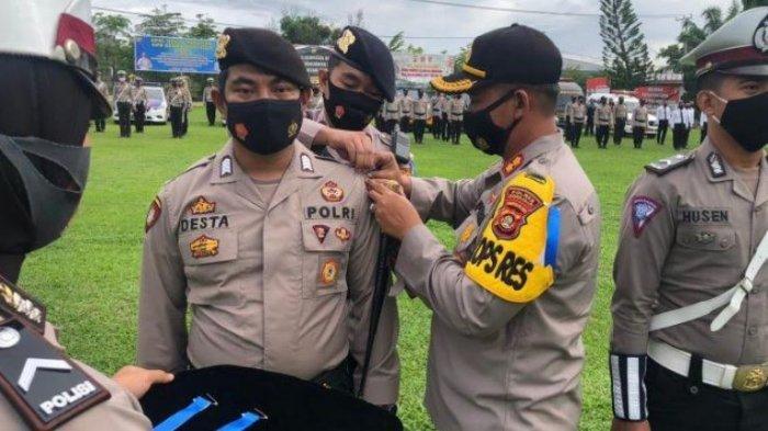 Kapolres Ogan Ilir Pimpin Apel Gelar Pasukan Operasi Zebra Musi 2020, Ini Target Penindakan