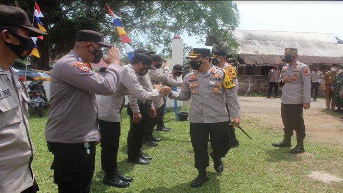 Polsek Muara Kuang Jamin Kondusivitas Wilayah Hukum, JanuariAgustus 2021 Ada 31 Kasus Tindak Pidana