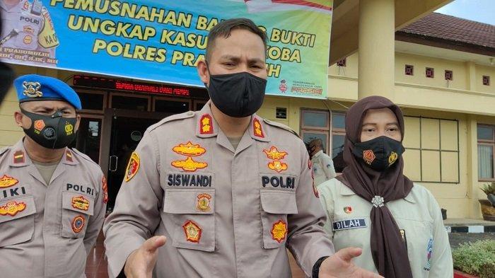 Kasat Reskrim, Narkoba dan Sabhara Polres Prabumulih Dijabat Perwira Baru