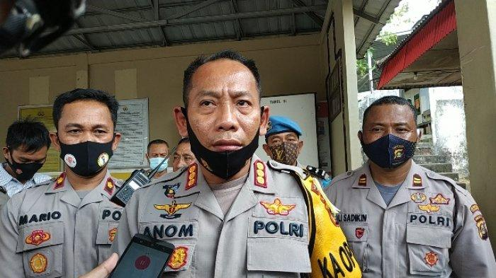Kapolrestabes Palembang, Kombes Pol Anom Setyadji.