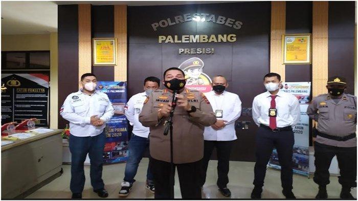 3 Satker Polrestabes Palembang Terima Penghargaan dari Wartawan, Sukses Ungkap Kasus Kriminal