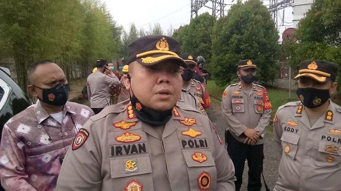 Kapolrestabes Palembang Kombes Pol Irvan Prawira Satyaputra
