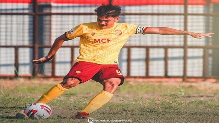 Pemain Muba Babel United, Bobby Satria Tetap Optimis Liga 2 Indonesia Tetap Akan Bergulir