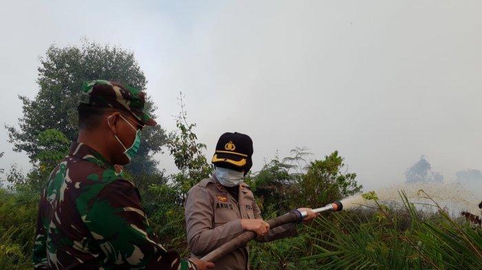 Kebakaran Hutan dan Lahan di Tulung Selapan OKI, BNPB : 29 kali Water Bombing, Api Belum Padam