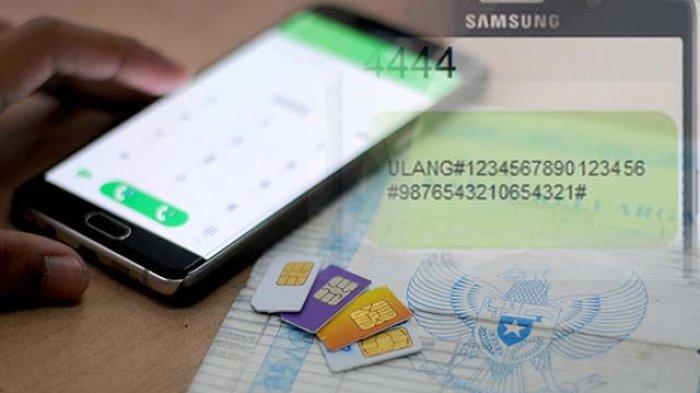 Cara Registrasi Kartu Telkomsel Indosat Xl Tri Smartfren Sebelum Diblokir Awal 2019 Halaman All Tribun Sumsel