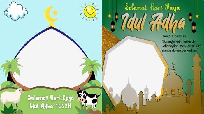 Link Twibbon Hari Raya Idul Adha 1442 H` Bingkai Gambar Lebaran Kurban 2021 untuk Posting di Medsos