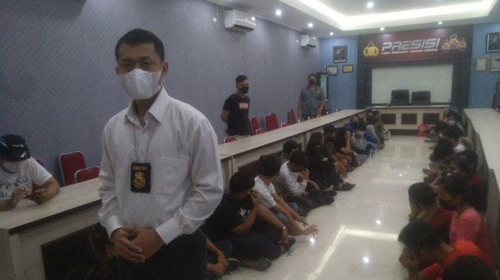 37 Pengunjung Cafe RD yang Terjaring Razia Dinyatakan Positif Narkoba, Diserahkan BNNP