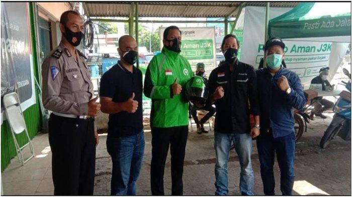 Kunjungi Kantor Gojek, Kasatlantas Polrestabes Palembang Puji Layanan Posko J3K Bagi Mitra Driver