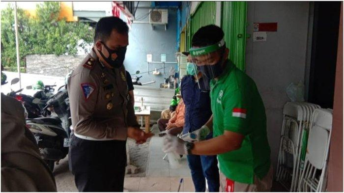 Kepala Satuan Lalu Lintas (Kasatlantas) Kepolisian Resort Kota Besar Palembang, Kompol Muhammad Yakin Rusdi, SIk memuji layanan di Posko J3 Gojek.