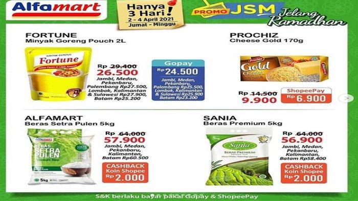 Promo JSM Alfamart Jelang Ramadhan Periode 2 Sampai 4 April Banyak Diskonnya