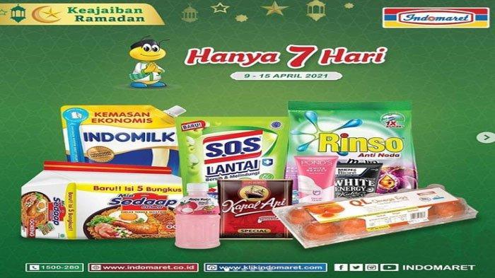 Katalog Promo Ramadhan dari Indomaret Banyak Diskonnya, Berlaku Nasional Sampai 15 April