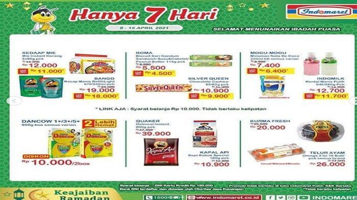 Katalog Promo Keajaiban Ramadhan dari Indomaret