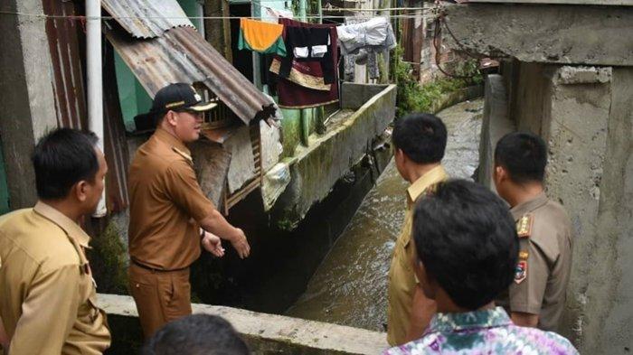 Hujan Setengah Jam Kawasan Trip Yunus Pagaralam Langsung Banjir Hampir Satu Meter
