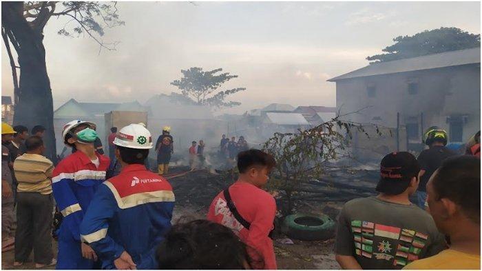 BREAKING NEWS: Kebakaran di Kemang Agung Kertapati, Warga Sempat Dengar Suara Ledakan Kompor