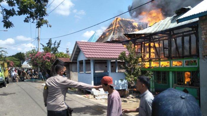 Terjadi 8 Peristiwa Kebakaran di Ogan Ilir, Mulai Pemukiman, Gudang Logistik hingga Lahan Gambut