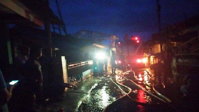 Kebakaran di Kelurahan Pasar Lama Lahat  Subuh Tadi, Ini Dugaan Sumber Api