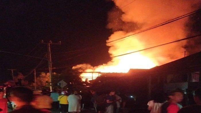Kebakaran di Lahat Rabu Petang, Satu Rumah Panggung Habis Terbakar