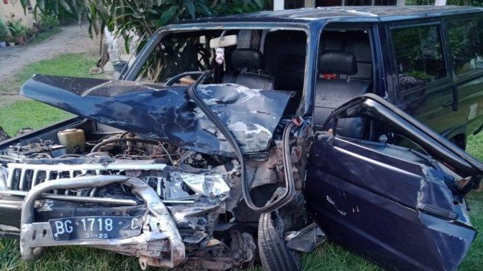 Kronologi Kecelakaan Maut di Teluk Gelam OKI, Mobil Kijang Isi Satu Keluarga, Sang Ayah Meninggal
