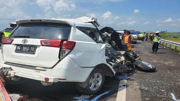 Berikut Nama-Nama Korban Kecelakaan Innova di Tol Kayuagung-Palembang Tadi Pagi