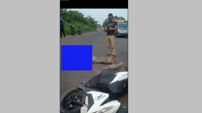 BREAKING NEWS: Warga Tegal Binangun Tewas Kecelakaan Maut di Betung, Tabrak Lari
