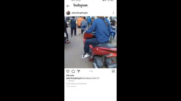 Breaking News: Terjadi Kecelakaan di Jalan SMB II, Seorang Anak Kecil Dikabarkan Meninggal