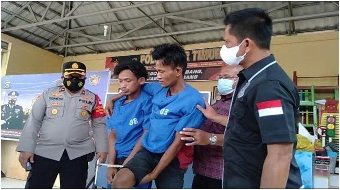 2 Residivis Berbagai Kasus di Palembang Curi Kabel Listrik Lampu Jalan, 1 Pelaku Ditembak Kaki