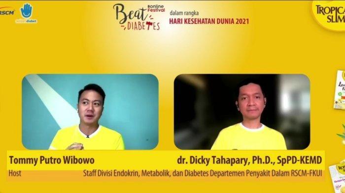 20 Juta Orang Indonesia Menderita Diabetes tapi Tidak Menyadarinya, Ini Cara Mencegahnya