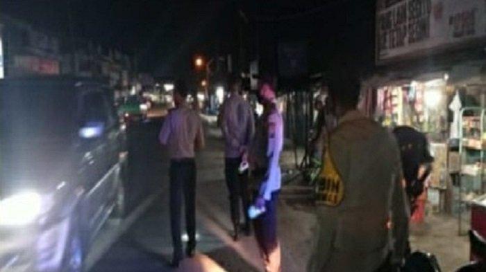 Antisipasi Tindak Kejahatan Jalanan dan Sosialisasi Prokes, Polsek Tanjung Raja Gelar KRYD