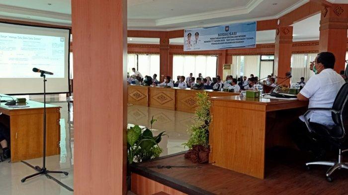 Sosialisasi Permendagri Nomor 77 Tahun 2020 dan PMK di Pemkab Ogan Komering Ilir