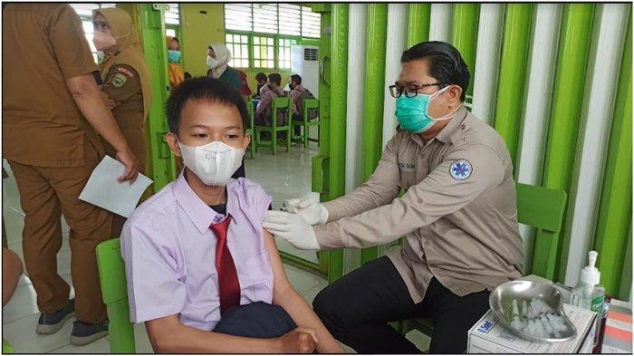 Bantu Percepat Capaian Vaksinasi Untuk Pelajar, IDI Sumsel Gelar Vaksinasi, Target 550 Orang Sehari