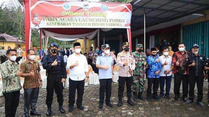 Wako Lubuklinggau Launching Kelurahan Tangguh Bersih Narkoba