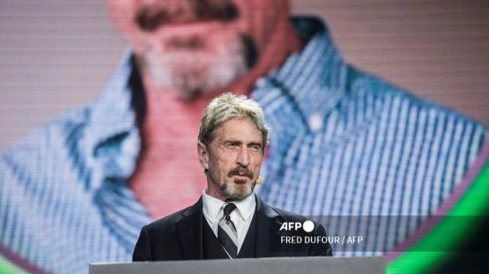Pendiri Antivirus John McAfee Bunuh Diri di Penjara