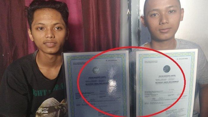 Anak Kembar di Yogyakarta ini Punya Nama Unik, RI 1 dan RI 2, Begini Kisahnya