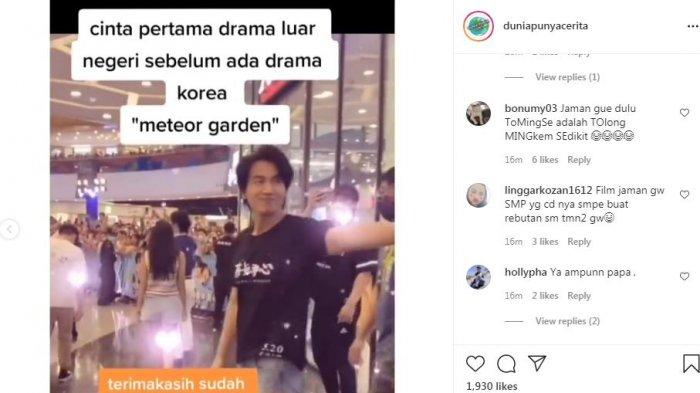 Kemunculan aktor Jerry Yan 'Meteor Garden' bikin penggemar histeris di mall