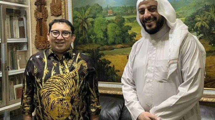 Isi Chat Terakhir Syekh Ali Jaber Diungkap Fadli Zon, Berdoa Agar Indonesia Terhindar Dari 2 Hal Ini