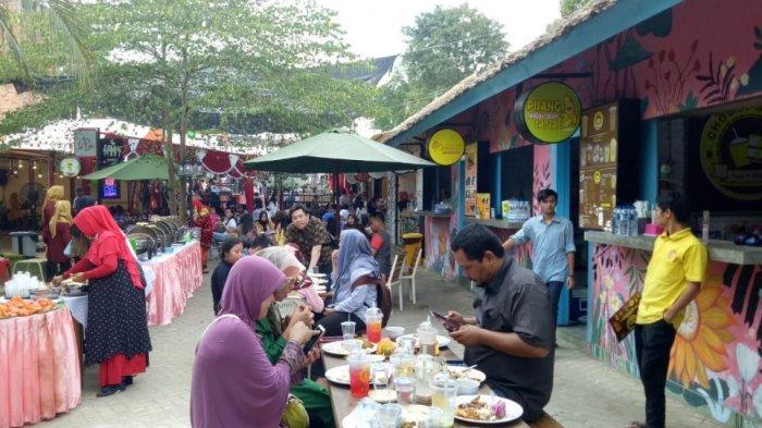 Kenten Street, Bekas Gudang Jadi Tempat Nongkrong Asyik Warga Palembang