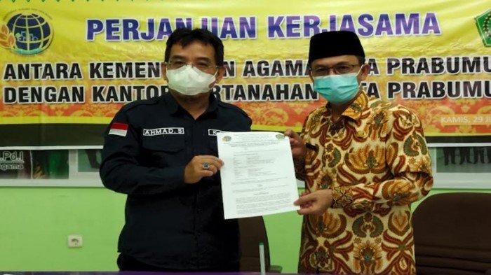 BPN-Kemenag Prabumulih Sertifikatkan Ratusan Masjid, Antisipasi Gugatan Ahli Waris