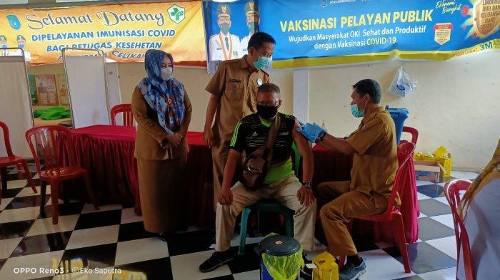 Puskemas Celika di Kabupaten Ogan Komering Ilir Siap Targetkan Vaksin 70 - 100 Orang Setiap Hari