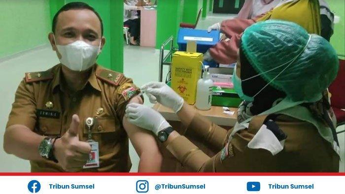 Penyuntikan Vaksin Tahap II ASN di Pemkot Lubuklinggau Berjalan Lancar