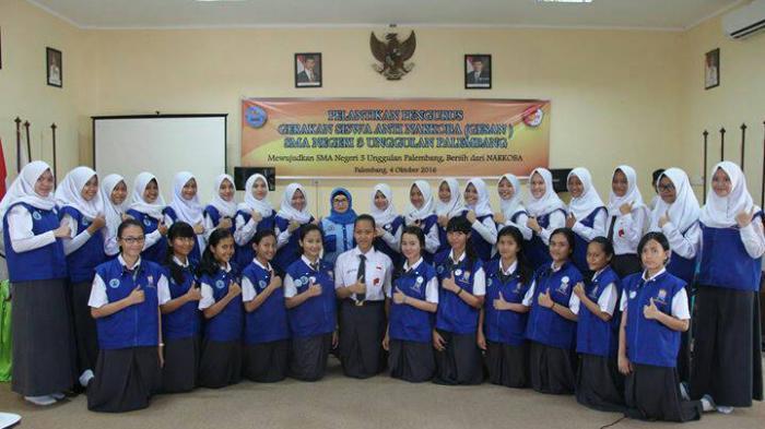 SMA Negeri 3 Palembang Punya Gerakan Siswa Anti Narkoba
