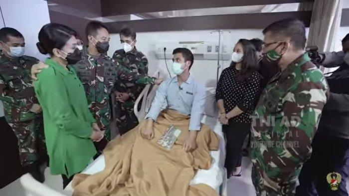 Kisah Haru Jenderal Andika Perkasa Tahu Letnan Saka Anak Brigjen Ricky Samuel Idap Kanker