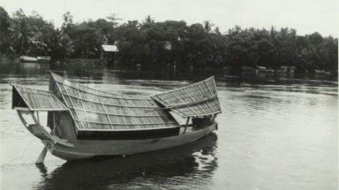 Kajang Perahu Khas OKI yang Jadi Transportasi Favorit di Zaman Kerajaan Sriwijaya