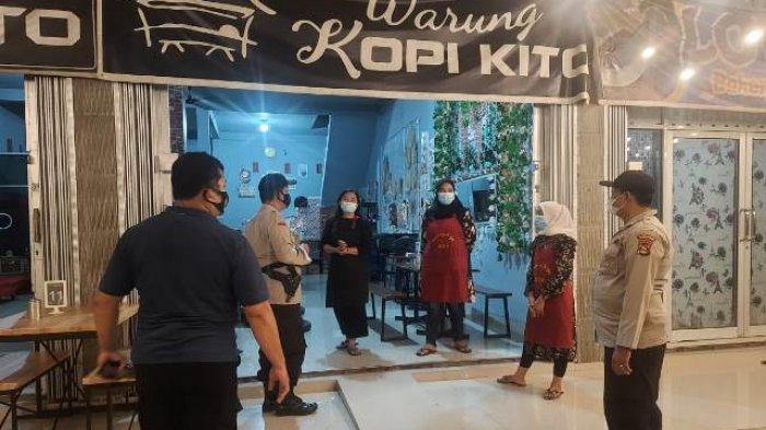 Polsek Tanjung Batu Bubarkan Kerumunan di Warung Kopi, Diduga Langgar Protokol Kesehatan