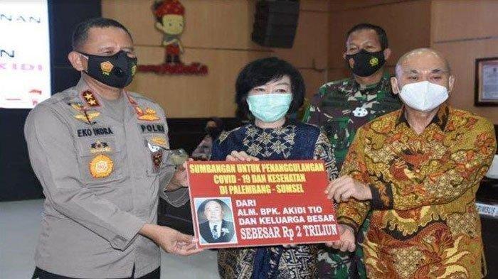 Soal Sumbangan Rp2 Triliun, Heriyanti Anak Bungsu Akidi Tio Sudah Diajak Ngobrol Prof Eko Indra Heri