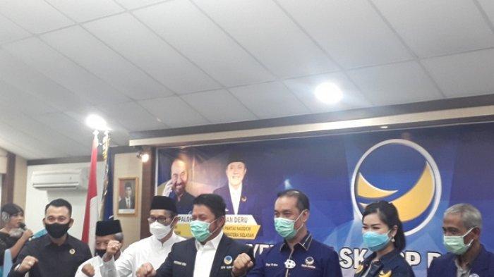 Nasdem Targetkan Sapu Bersih Pilkada di 7 Kabupaten di Sumsel, Herman Deru : Jangan Star Syndrome