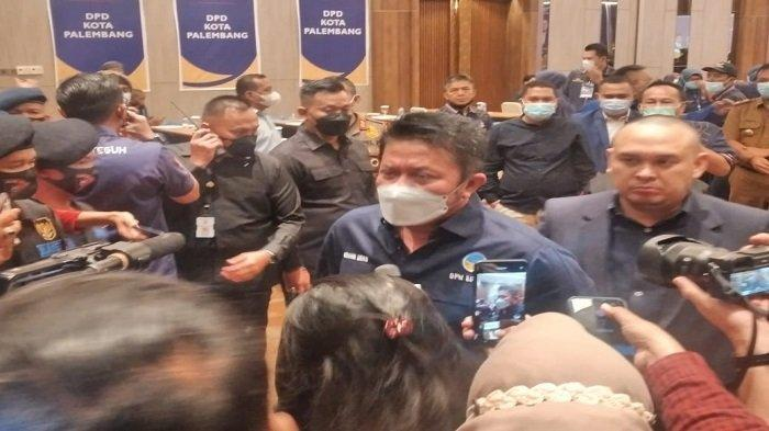 Dirakorda Nasdem Palembang, Herman Deru: Kalau Cuma Mau Nyari Duit Mundur, Mending Dak Usah Nyalon