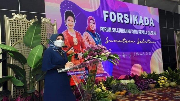 Ketua TP PKK Lubuklinggau Hadiri Pertemuan Forsikada IV se-Sumsel