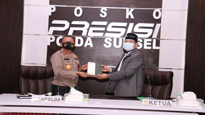 Ketua LDII Sumsel Bersilaturahmi dengan Kapolda Sumsel