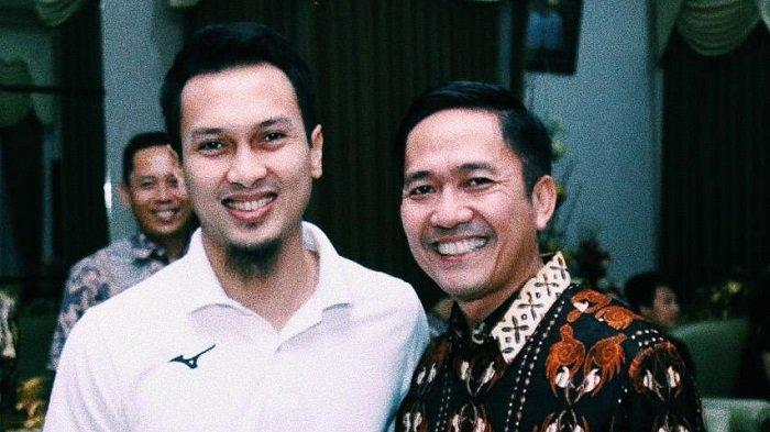 Ketua PBSI Kota Palembang, Beri Semangat Pebulutangkis Nasional Mohammad Ahsan